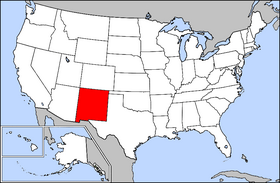 Location of New_Mexico