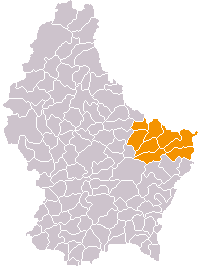 Location of Echternach_(canton)