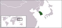 Location of South_Korea