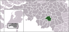 Location of Eindhoven
