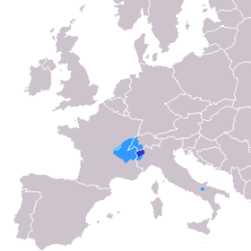 Location of Arpitania