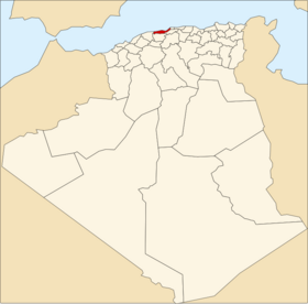 Location of Tipaza_Province