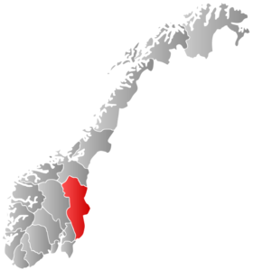 Location of Hedmark