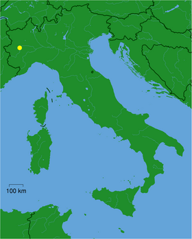 Location of Turin
