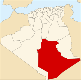 Location of Tamanrasset_Province