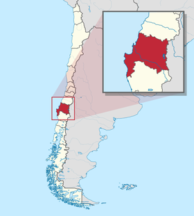 Location of Bío_Bío_Region
