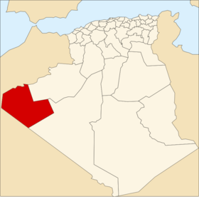 Location of Tindouf_Province
